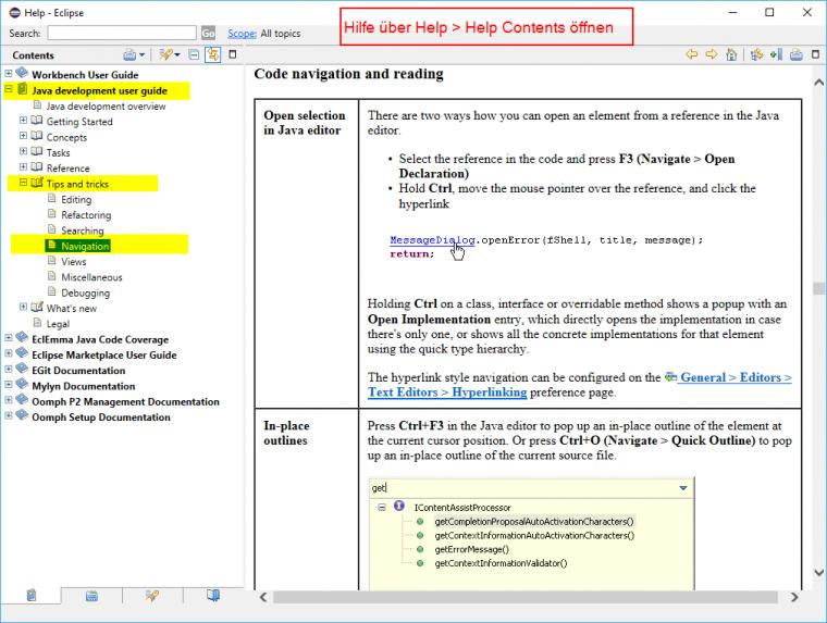 Tipp für den Berufseinstieg: Navigation in der Codebasis